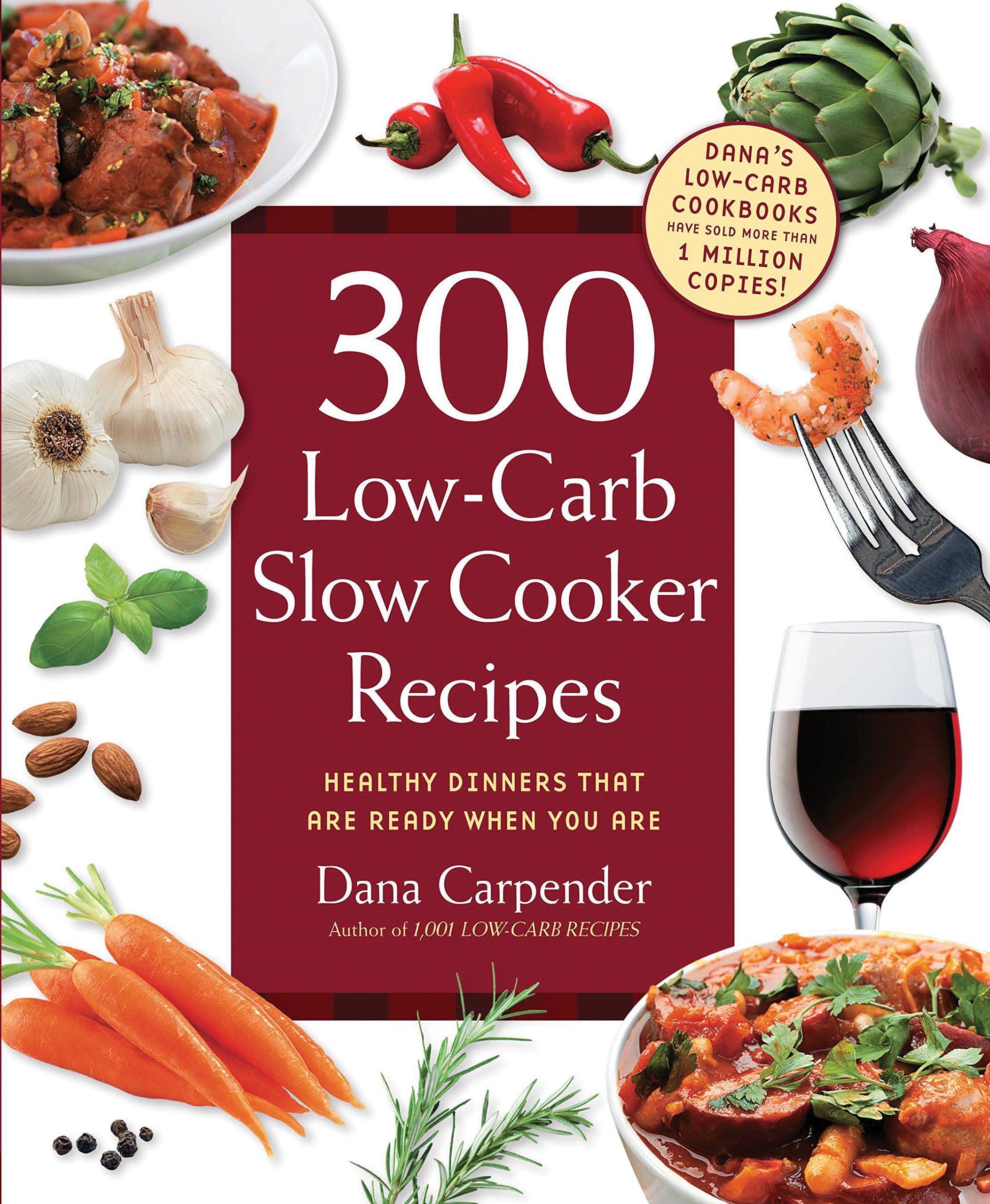 300 Low Carb Slow Cooker Recipes product image