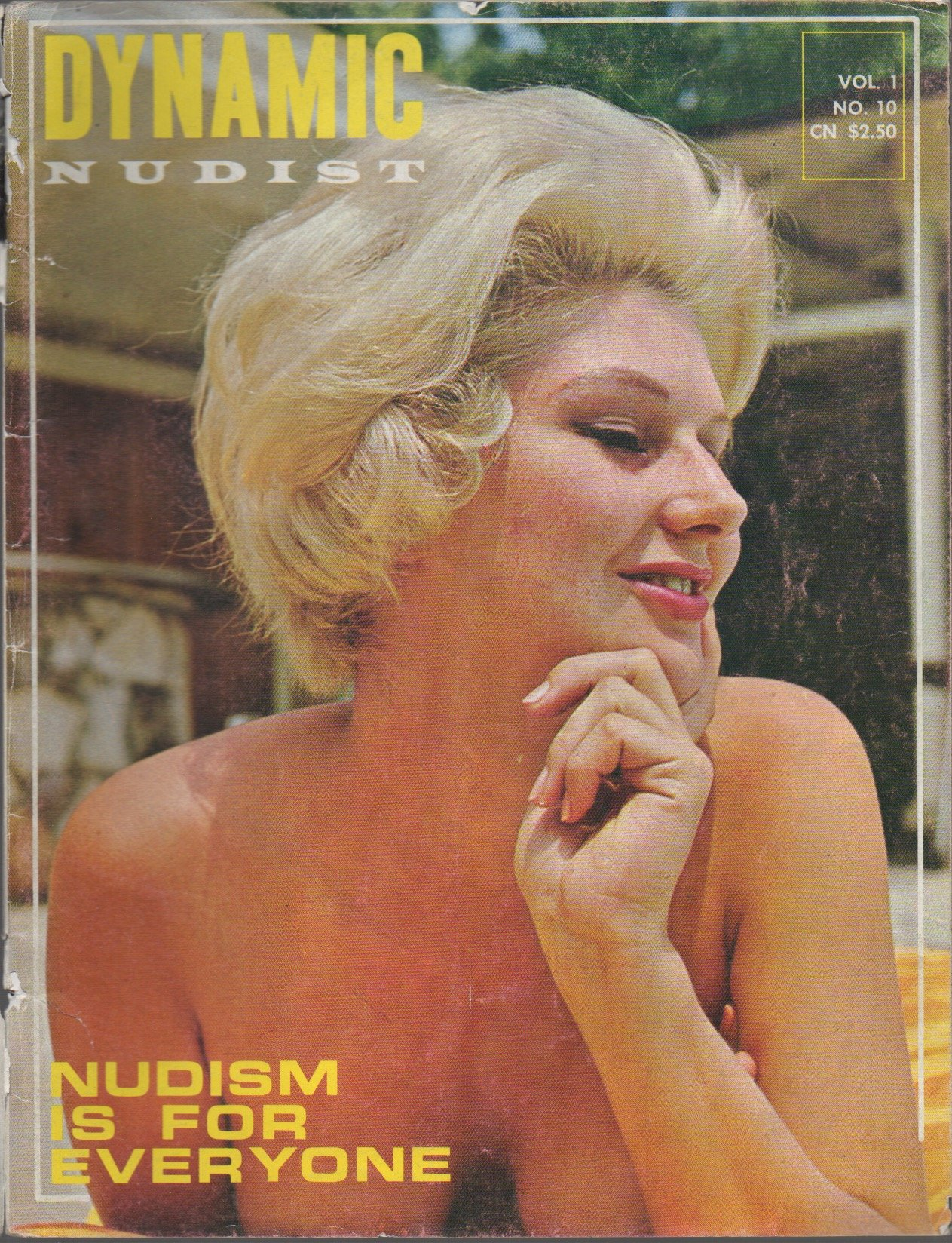 retro nudist women