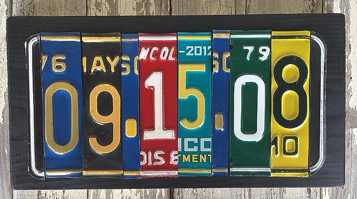 amazon com anniversary gift 10th anniversary sign 10 year
