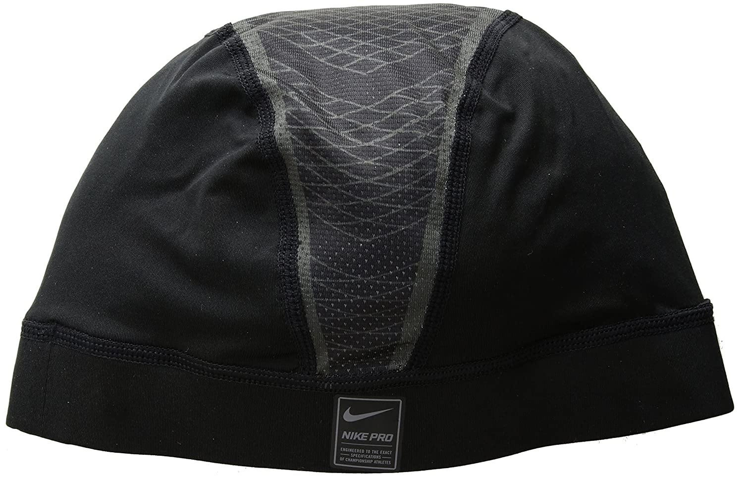 265b806cfc4ad Amazon.com  The Nike Pro Hypercool Vapor 4.0 Skull Cap is made with  sweat-wicking stretch fabric and mesh panels to help keep you dry and cool.   Clothing