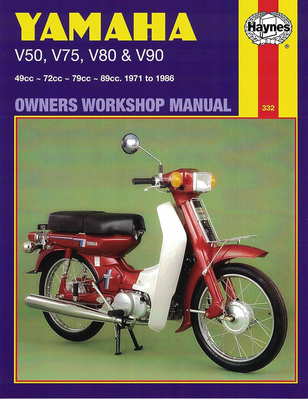 Haynes Manual Yamaha V50,V75,V80 & V90 71-86 (Each): Amazon.co.uk: Car &  Motorbike