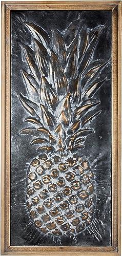 American Art D cor Metal Pineapple Wall Art Rustic Farmhouse D cor
