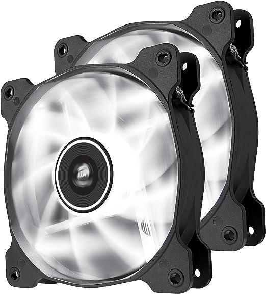 110 opinioni per Corsair CO-9050030-WW Air Series SP120-LED ventola da 120mm a bassa rumorosità e