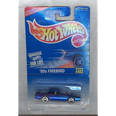 Hot Wheels 1995-462 '80S FIREBIRD 1980 1:64 Scale: Toys & Games