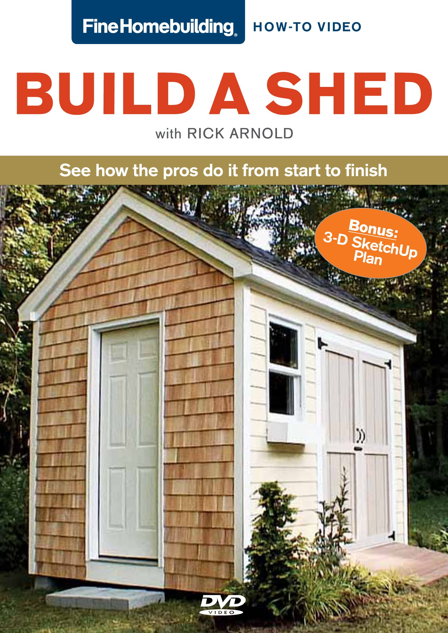 Fine Homebuilding How To Video Series Build a Shed