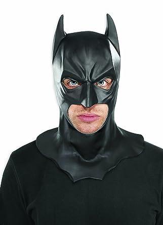 Rubieu0027s Batman The Dark Knight Rises Full Batman Mask Black One Size  sc 1 st  Amazon.com & Amazon.com: Rubieu0027s Batman The Dark Knight Rises Full Batman Mask ...