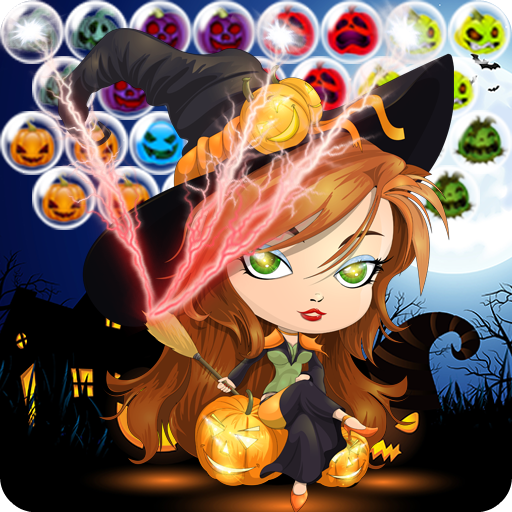 Bubble Halloween : Witch (Halloween Bubble)