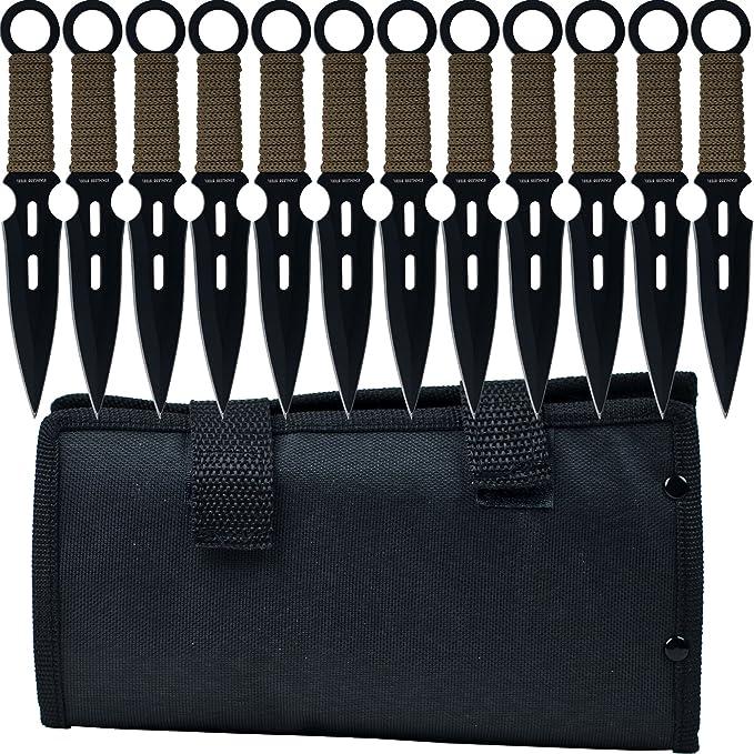 Whetstone Cutlery 12 Piece Set of S-Force Kunai Knives