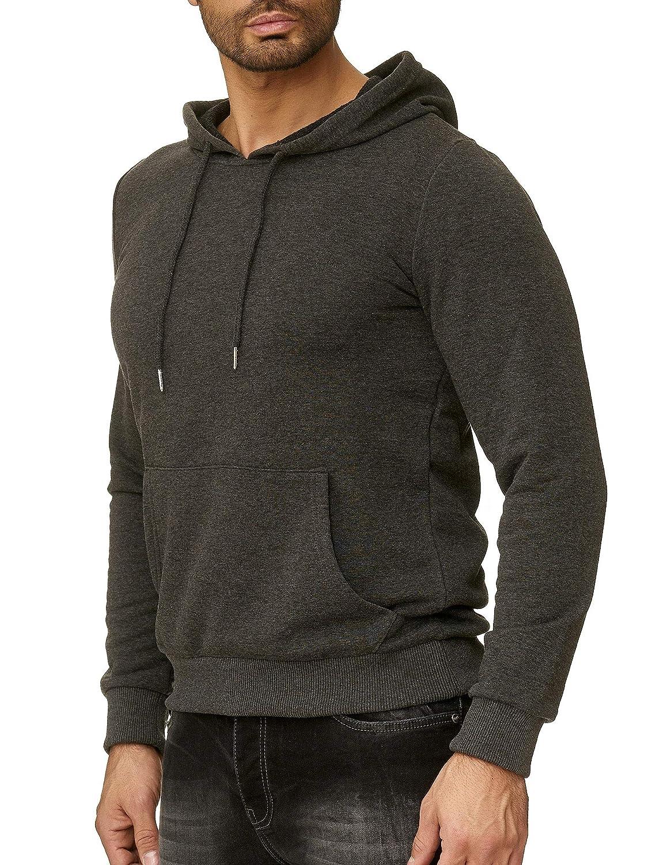 Redbridge Herren Sweatshirt Pullover Hoodie Basic Uni Line Baumwolle Sweater