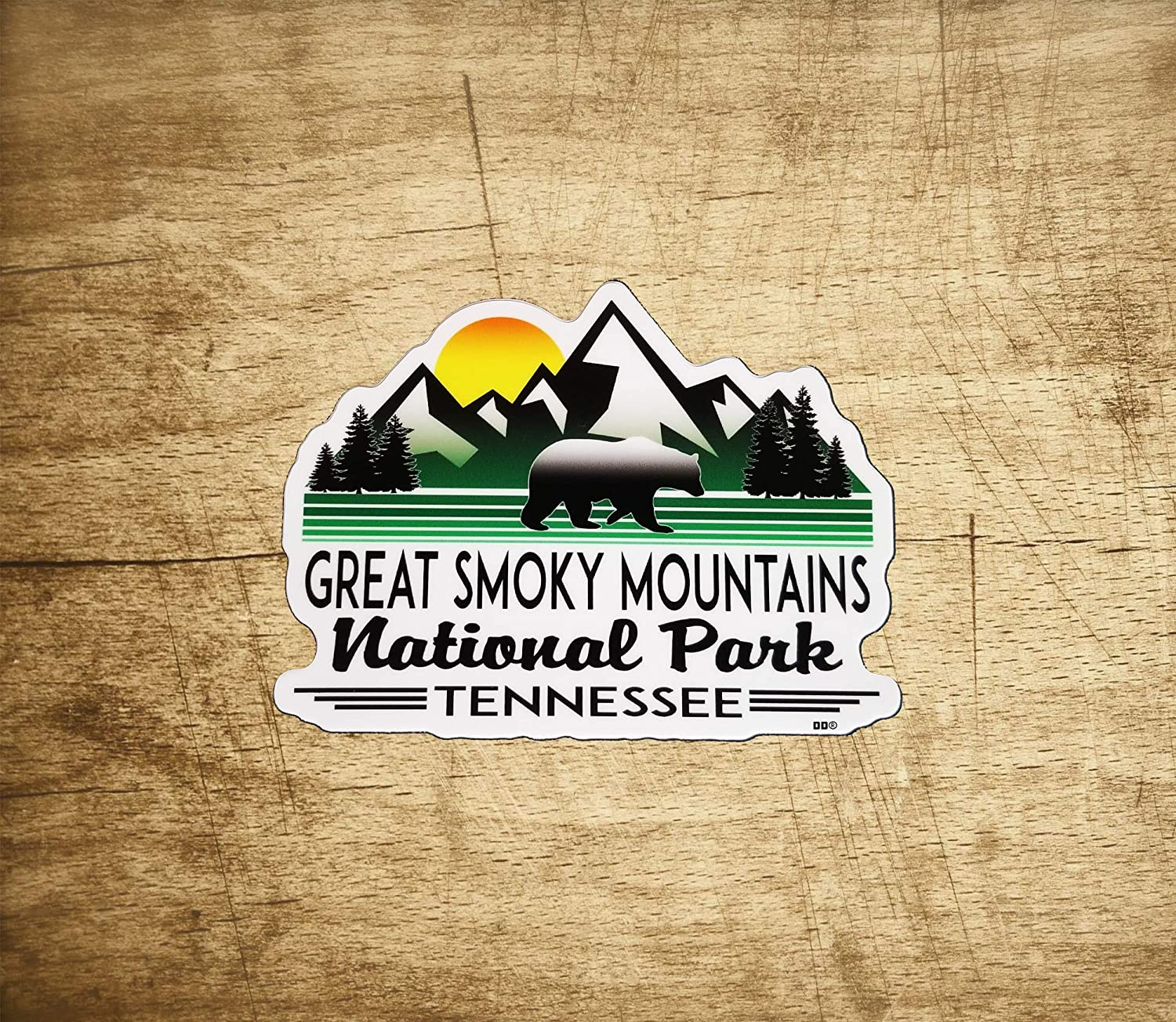 Magic of East Tennessee Vinyl Sticker Smoky Mtns National Park