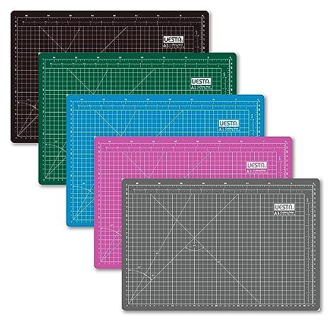 600 x 450 mm UESTA A2 Gris Self Healing 5 Couches PVC Cutting Mat Tapis De Coupe D/écoupe