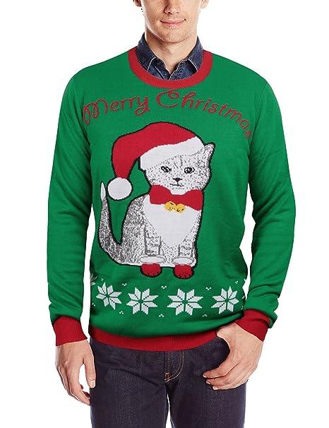 8cc2dff8a1 Leapparel Maglione Natale da coppie adulte Morbida Maglia Ugly ...