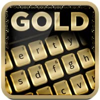 Gold Keyboard Theme