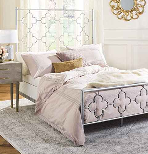 Safavieh Home Morris Moroccan Antique Silver Bed