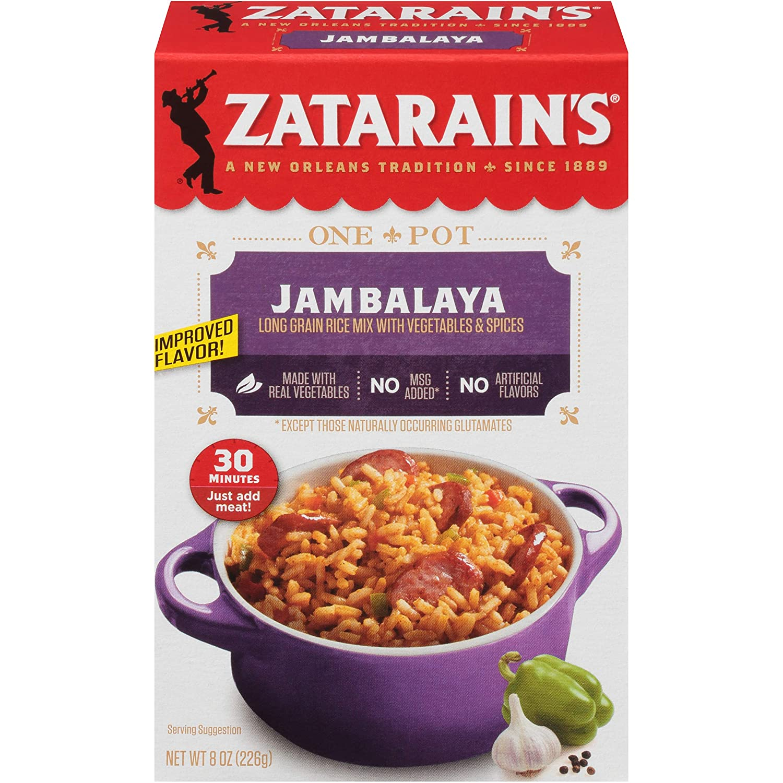 Zatarain's Jambalaya Rice Mix, 8 Oz