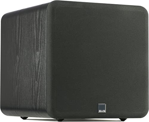 SVS SB-1000 Subwoofer Black Ash 12-inch Driver, 300-Watts RMS, Sealed Cabinet