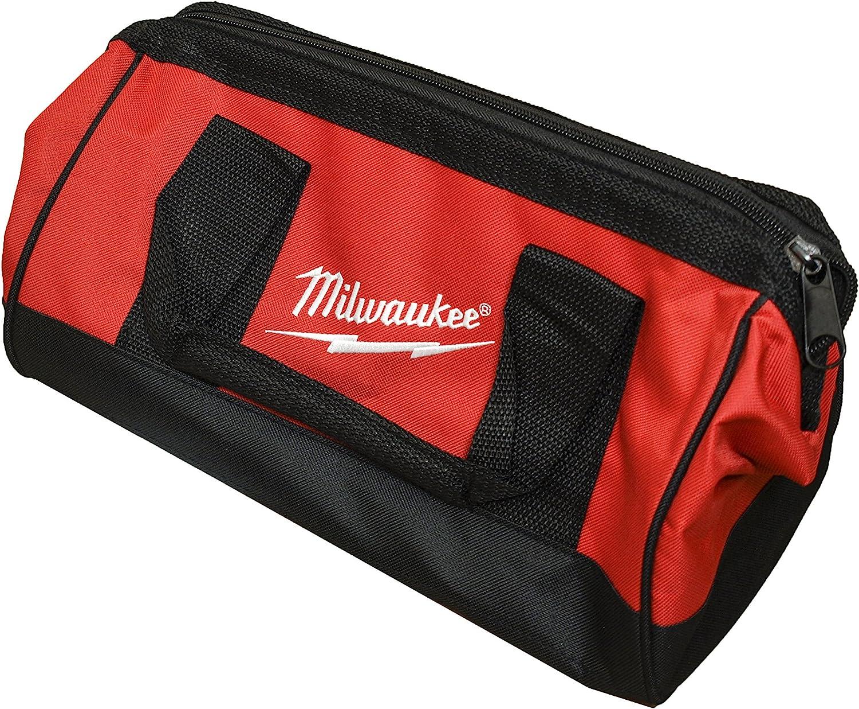 "NEW Milwaukee 13/"" x 9/"" x 3 1//2/"" M12 Li-Ion Contractor Soft Case Tote Tool Bag"