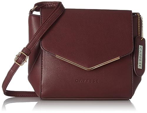 7ef5692ad Caprese Yondella Women s Sling Bag (Plum)  Amazon.in  Shoes   Handbags