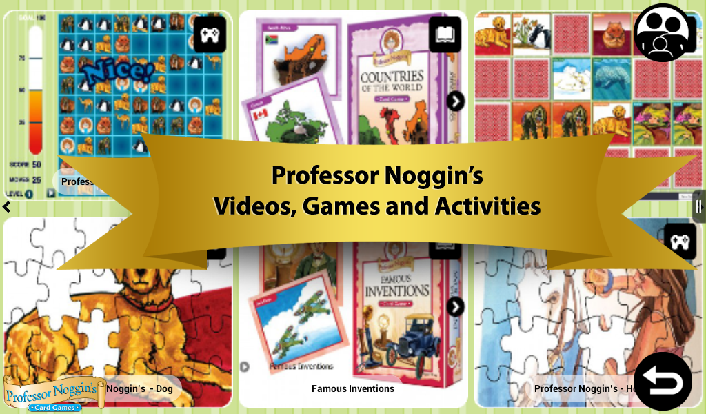 Professor Noggin's Trivia Card Game for Kids - Science