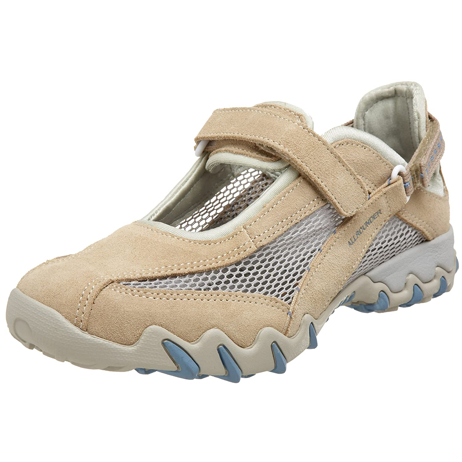 Allrounder by Mephisto Women's Niro Mary Jane Flat B001G0MBJG 9.5 B(M) US|Nature/Cool Grey