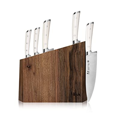 Cangshan S1 Series 59663 6-Piece German Steel Forged Knife Block Set