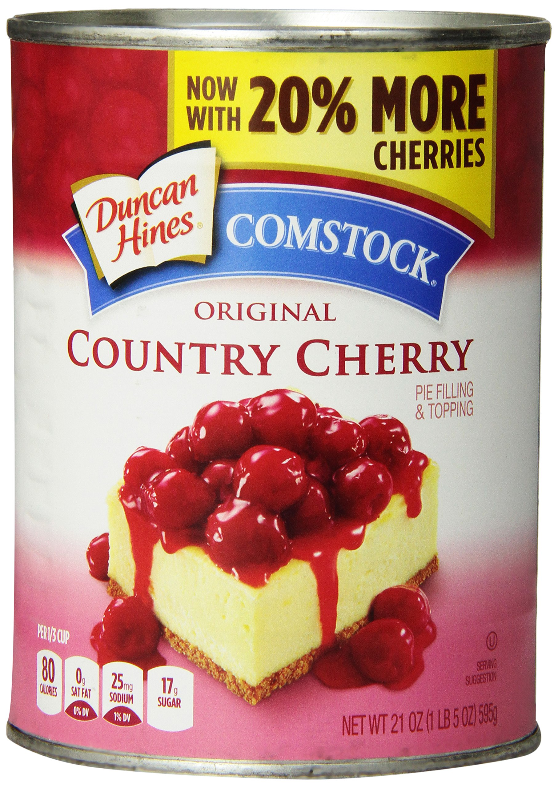 Comstock Cherry Pie Filling - 21 oz