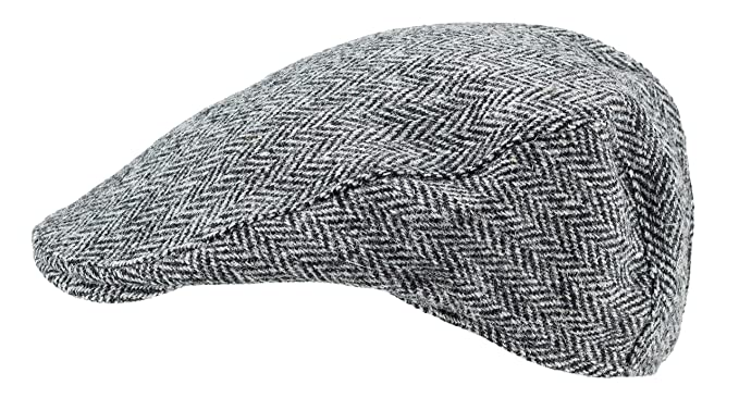 d98f2d26d43 Image Unavailable. Image not available for. Color  Harris Tweed.Made in  Scotland.The Aberdeen  Brad Pitt  Style Flat Cap