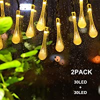 Binval Solar String Lights For Outdoor Patio Lawn Landscape Garden Home  Wedding Holiday Decorations[19.7