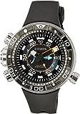 Citizen Herren-Armbanduhr XL Promaster Marine - Eco-Drive Aqualand Analog Quarz Kautschuk BN2024-05E