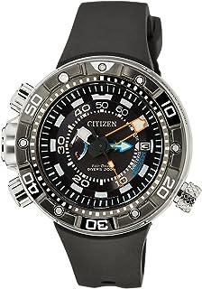 Citizen Promaster Marine - Eco-Drive Aqualand - Reloj de Cuarzo para Hombre, con Correa de Goma,…