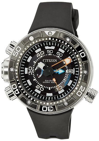 0d9a0eded8bb Citizen Promaster Marine - Eco-Drive Aqualand - Reloj de Cuarzo para  Hombre