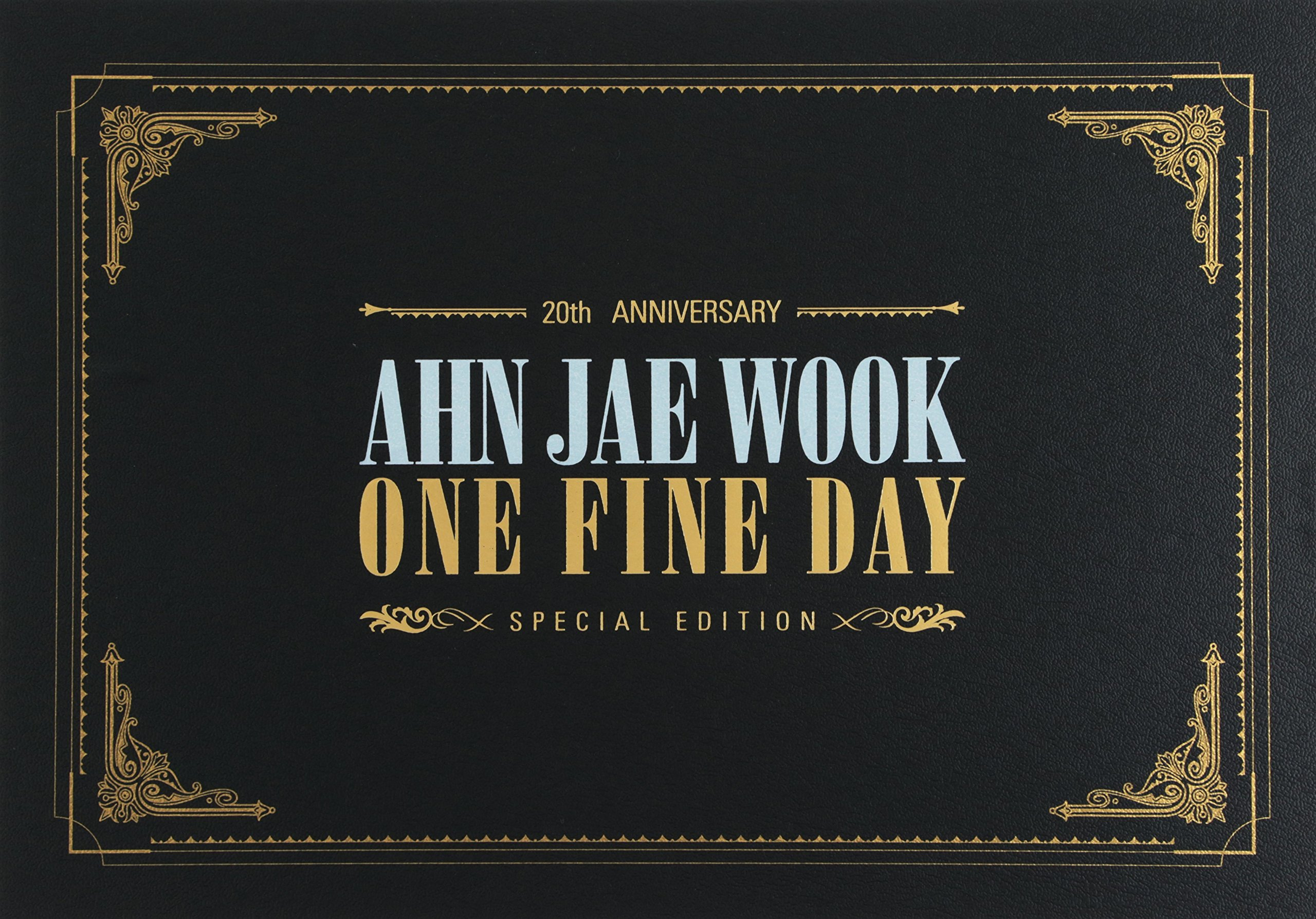 Ahn Jae Wook - 20th Anniv. Album [ONE FINE DAY] Special Edition by