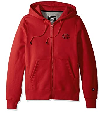 43873a026d5d Amazon.com  Champion LIFE Men s Super Fleece 2.0 Full Zip Hood  Clothing