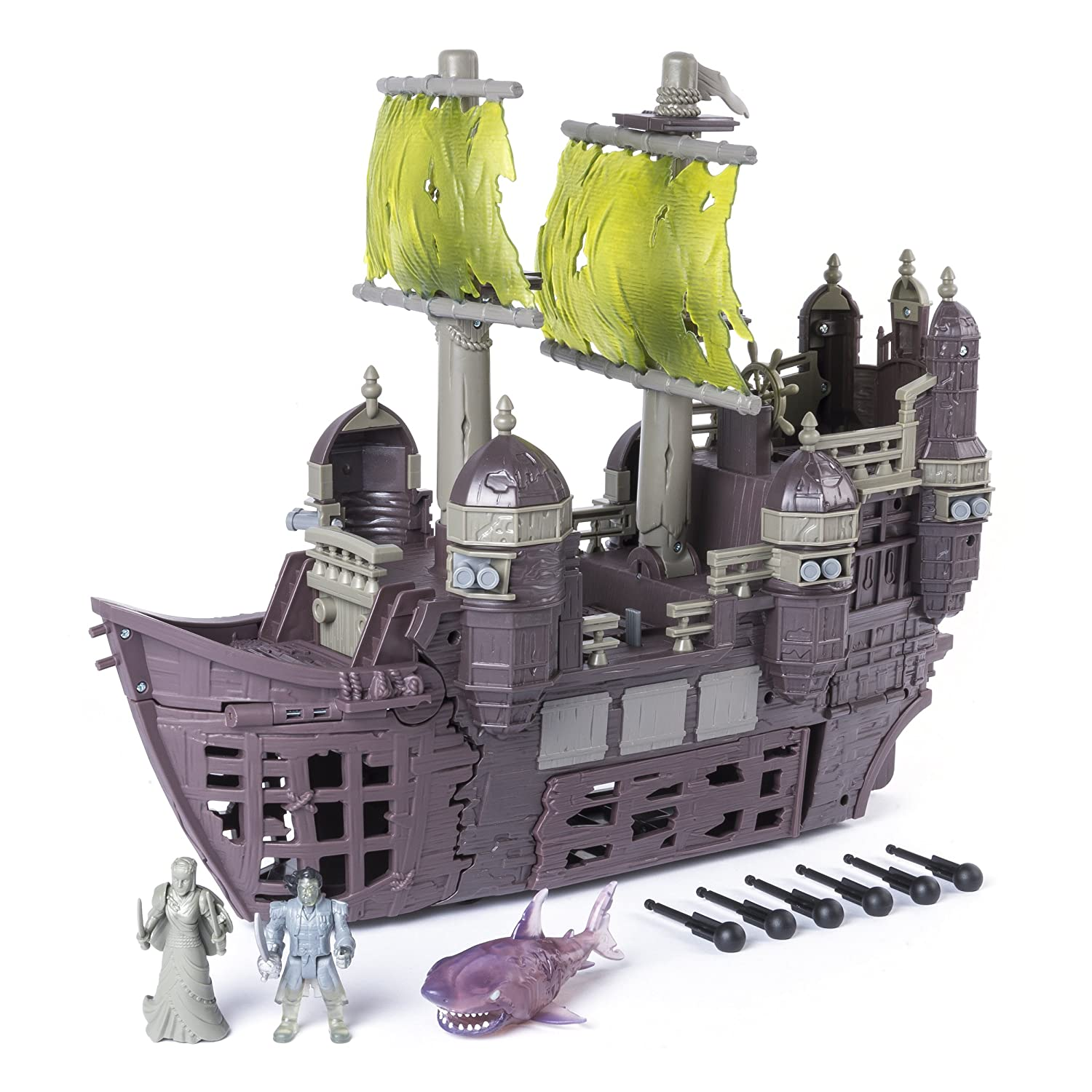 Dead Men Tell No Tales Lego Pirate Ship Silent Mary