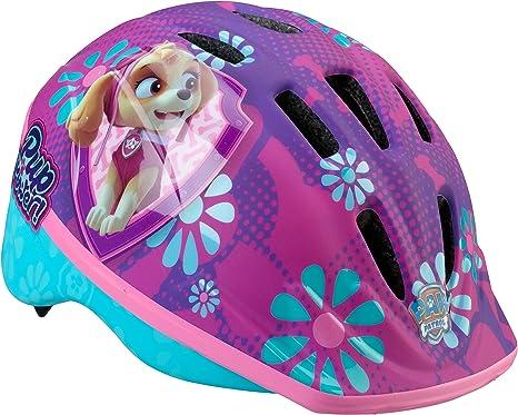 Kids Bike Helmet Nickelodeon PAW Patrol Adjustable Top Vents Lower Molded Shell