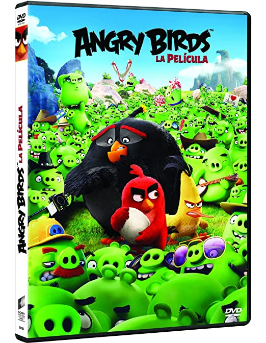Angry Birds: La Película [DVD]: Amazon.es: Jason Sudeikis, Josh Gad, Danny McBride, Maya Rudolph, Bill Hader, Peter Dinklage, Sean Penn, Keegan-Michael Key, Clay Kaytis, Fergal Reilly, Jason Sudeikis, Josh Gad, Rovio Entertainment,