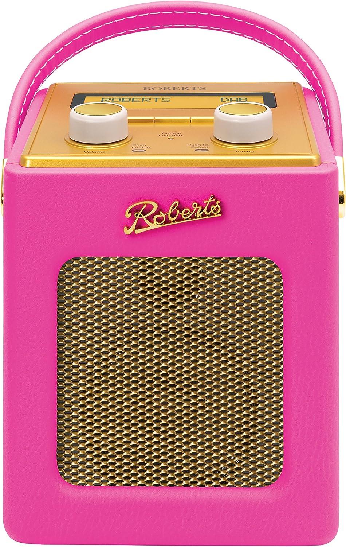 Roberts Radio REV-MINIHPE Digitalradio Rosa