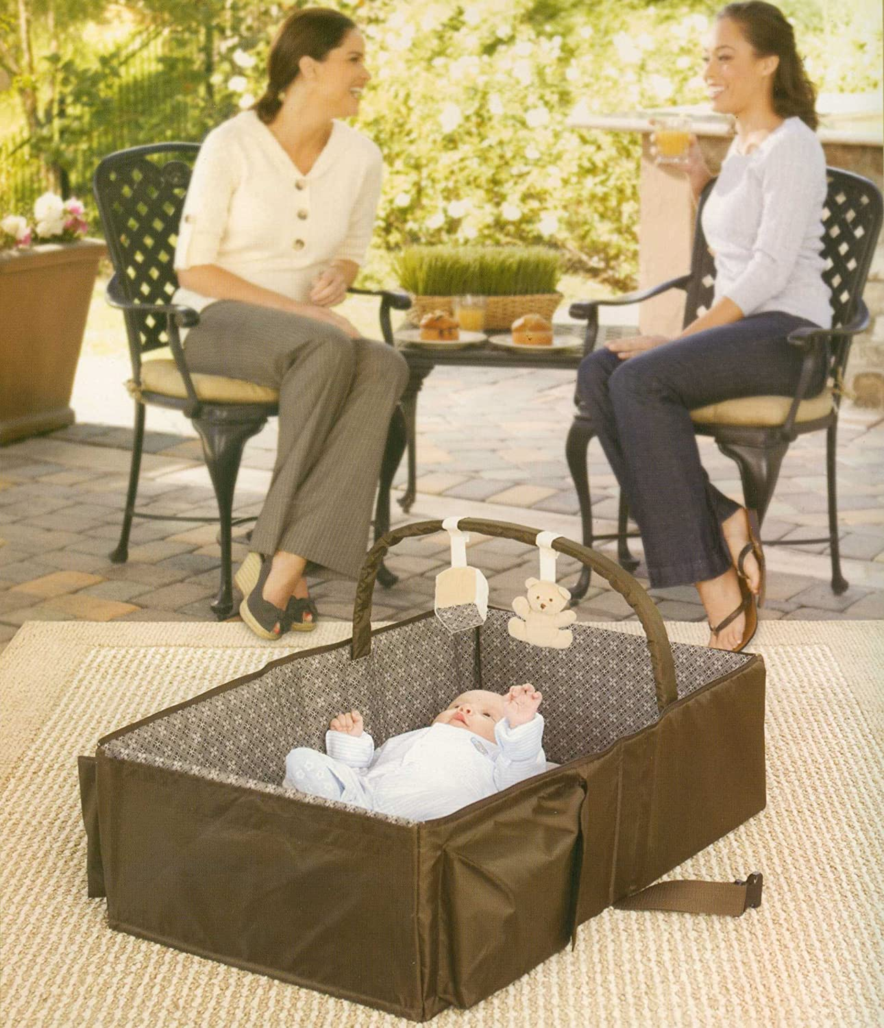Amazon Ed Bauer Infant Travel Bed the the go Sleep and