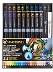 Chameleon CT2201 Set de 22 Marcadores