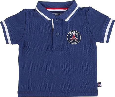 Paris Saint Germain – bebé niño Polo Oficial, Bebé niño, Azul, 3 ...