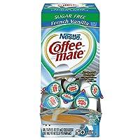 Amazon.com deals on 50-Count Nestle Coffee-Mate Coffee Creamer, French Vanilla