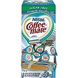 NESTLE COFFEE-MATE Coffee Creamer, Sugar Free French Vanilla, 0.375oz liquid creamer singles, 50-count