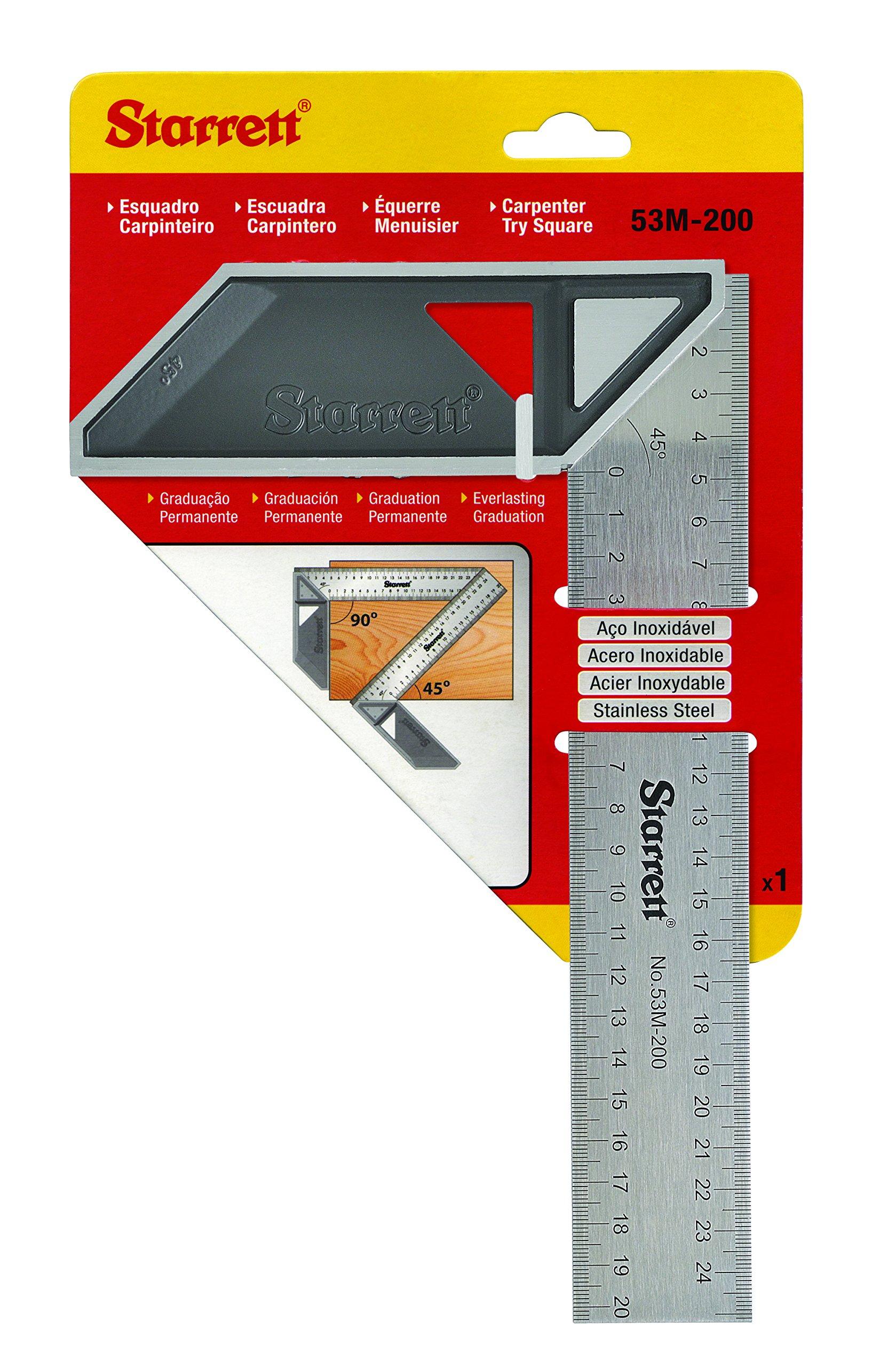 Starrett K53M-200-S Try Square