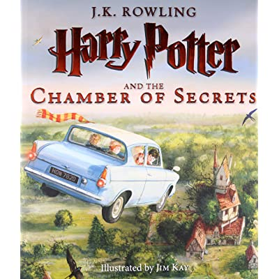 Toy Store - PRE-ORDER Harry Potter and the Chamber of Secrets: Illustrated Edition Hardcover - New Arrival: Toys & Games [5Bkhe0301033]