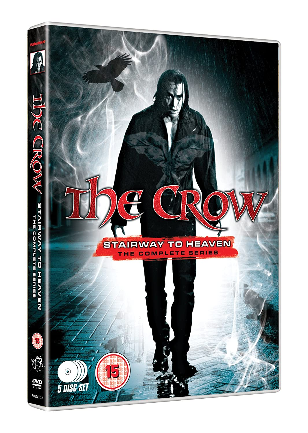 The Crow - Stairway To Heaven: The Complete Series 5 DVD set
