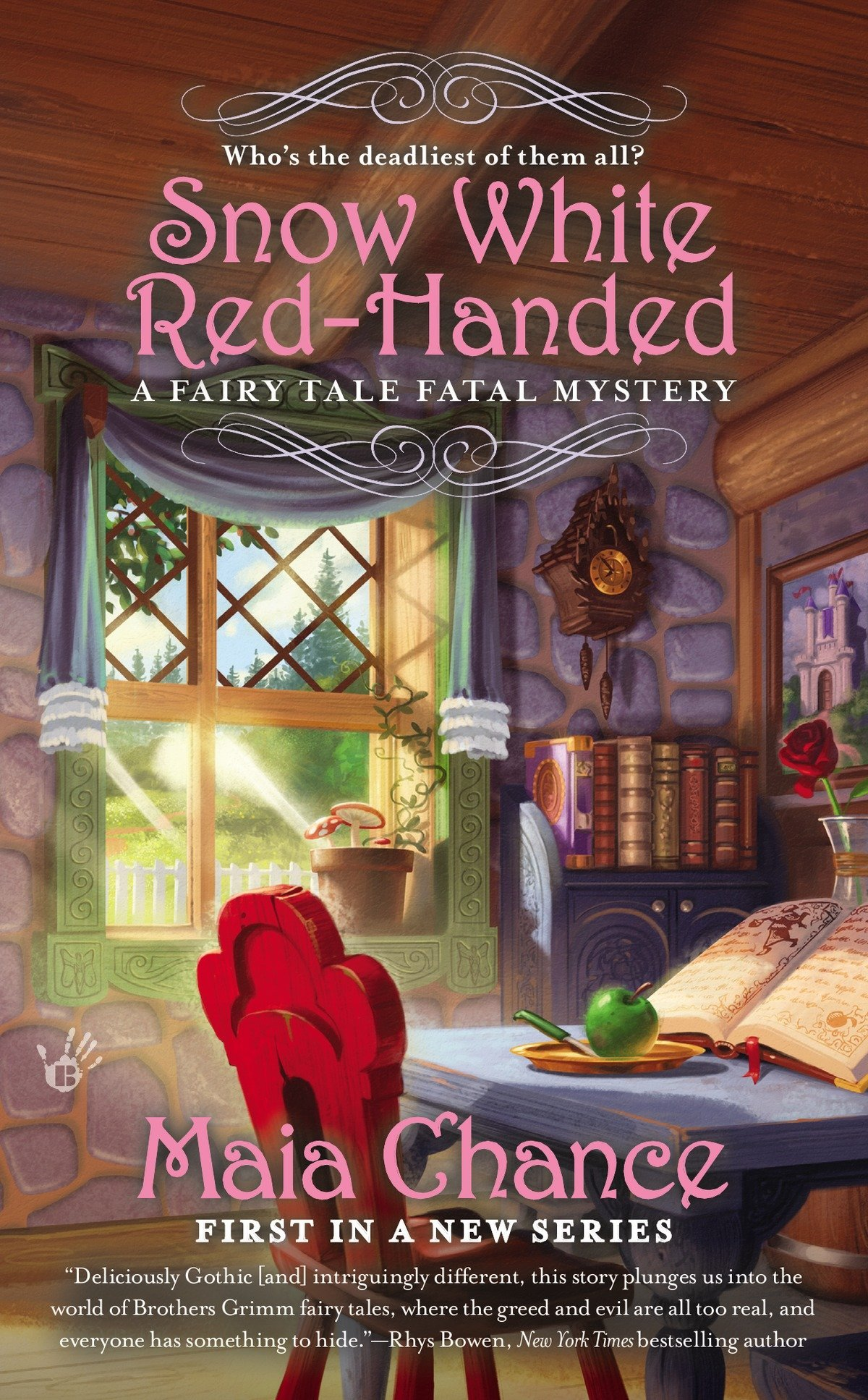 Read Online Snow White Red-Handed (A Fairy Tale Fatal Mystery) pdf