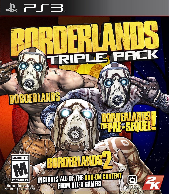 Amazon com: Borderlands Triple Pack - PlayStation 3: Take 2