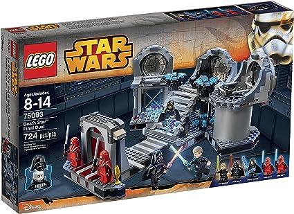 Amazon Com Lego Star Wars Death Star Final Duel 75093 Building Kit Toys Games