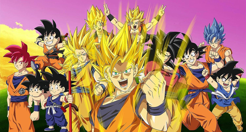 Dragon Ball Z DBZ son Goku vegetariano Logo Tattoo Taza ...