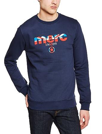 letzte Veröffentlichung Rabatt heißester Verkauf Merc of London Herren Sweatshirt Otto: Amazon.de: Bekleidung